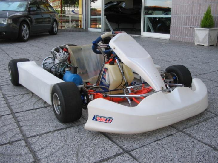 Kart Trulli Motor Vortex