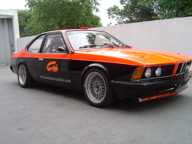 BMW 635 CSI E24 Race Car